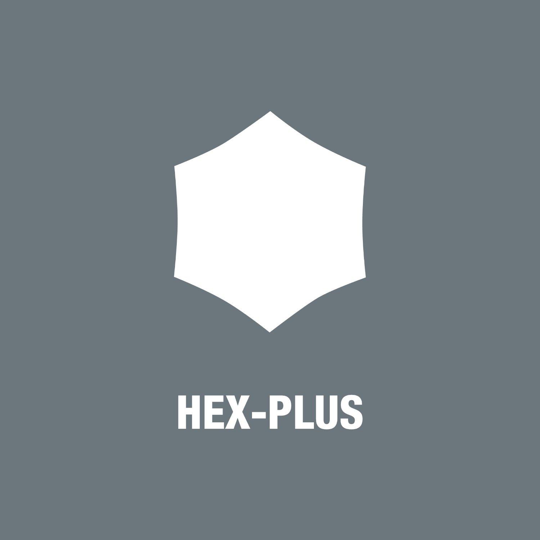 Silver Wera 05022614001 Hex Key 950 SPKL Metric BlackLaser 8.0x195mm