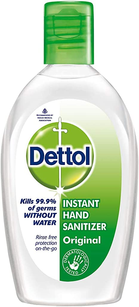 Dettol Hand Sanitizer Original 50ml Amazon Co Uk Baby