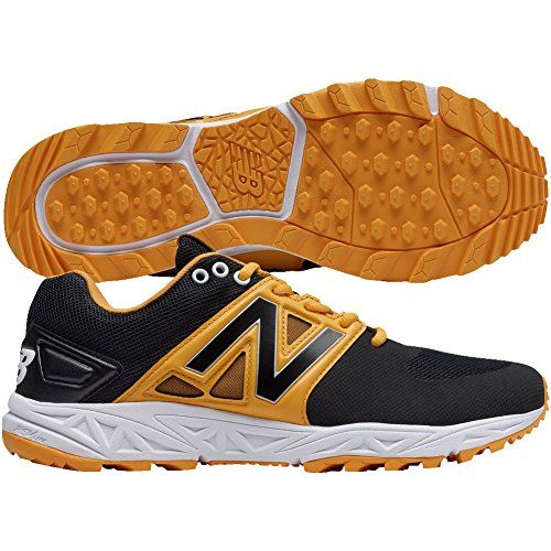 New Balance Herren 3000v3 Baseball Turf Schuhe Schwarz | gelb