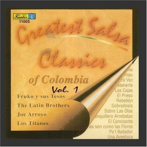 Greatest Salsa Classics Of Colombia by Manufacturer direct delivery 1 Vol. Online limited product Various -