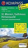 St. Blasien - Todtmoos - Hotzenwald - Naturpark Südschwarzwald: Wanderkarte mit Aktiv Guide, Radwegen und Loipen. GPS-genau. 1:25000 (KOMPASS-Wanderkarten, Band 898)