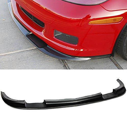 - VXMOTRO for 05-13 Chevrolet Corvette C6 Z06 ZR1 Style, ABS Front Lip Kit Splitter Bumper 2005 2006 2007 2008 2009 2010 2011 2012 2013