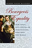 img - for Bourgeois Equality: How Ideas, Not Capital or Institutions, Enriched the World book / textbook / text book