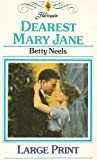 Dearest Mary Jane, Betty Neals, 0263140768