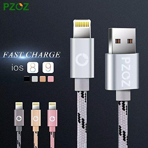 pzoz iluminación Cable Cargador rápido Adaptador Original Cable ...