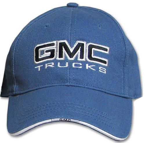 GMC Trucks Fine Embroidered Classic Hat Cap, Blue