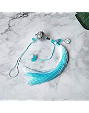 Chen Qing Ling Hanger Mo Dao Zu Shi Auto Hanger Cosplay Prop Kwastje Ornamenten Klokken Taille Hanged Accessoires (blauw)