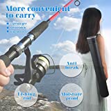 Document Tube,Plastic Expanding Poster/Art/Document Storage Tube 24.5 to 40 inches Adjustable with Carrying Strap Waterproof and Light-Resistance Telescoping Carrying Case