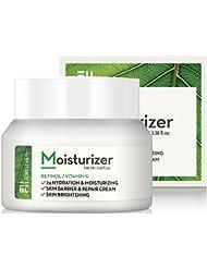 Face Moisturizer Retinol Cream - Moisturizes Dry Skin - Day or Night 24 Hour Hydrating and Anti Aging Wrinkle Cream - Forest Heal - 3.38 fl.oz.