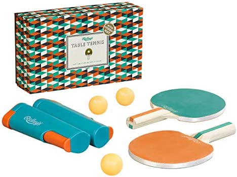 Ridley s Portable Travel 6-Piece Table Tennis Set for Adults and Children, Multicolor, One Size