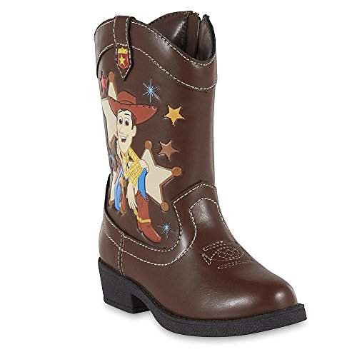 Disney Boys Toy Story's Woody Western Boot (10)