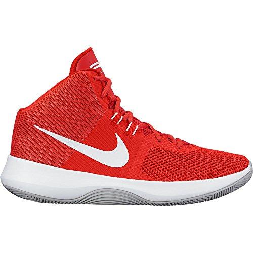 Nike NIKE AIR PRECISION - Zapatillas deportivas, Hombre, Rojo - (University Red/White-Wolf Grey)