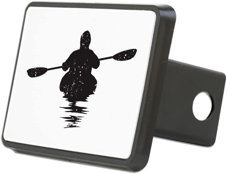 Truck Receiver Hitch Plug Insert Trailer Hitch Cover CafePress Kayaking