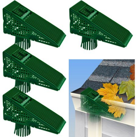 EZ Clean Downspout Screen by Trademark Home - Set of 4 - No Tools Required