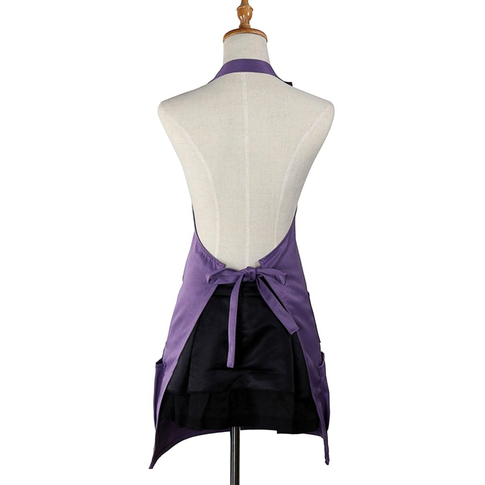or boshiho Adult Painting Aprons Barber Apron with Pockets for Women//Men//Unisex