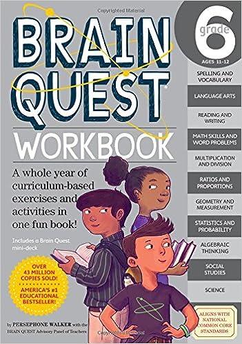 Brain Quest Workbook: Grade 6: Persephone Walker, Nick Thornborrow ...