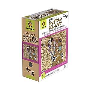 Ludattica Art Games Atelier Puzzle Mosaico Gustav Klimt Il Bacio 252 Pezzi Scala 11 Con Kit Creativo
