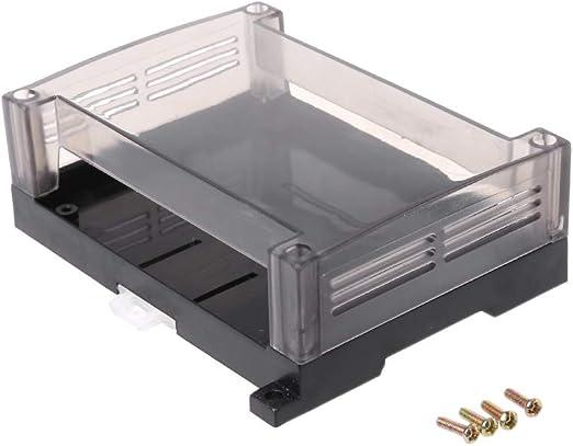 FATTERYU - Caja de Control Industrial PLC de plástico Transparente ...