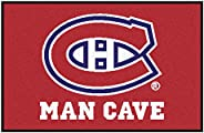 FANMATS 14446 NHL Montreal Canadiens Nylon Universal Man Cave Starter Rug