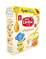 Cerelac Wheat with Honey and Milk, Extra Spoon - 125 grams