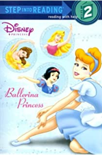 Ballerina Princess Disney Step Into Reading