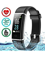 Seneo Fitness Watch, IP68 Waterproof Fitness Tracker Colour Screen Activity Tracker with Heart Rate Monitor Pedometer Sleep Tracker Calorie Counter Steps Counter for Men and Women for Android or iOS