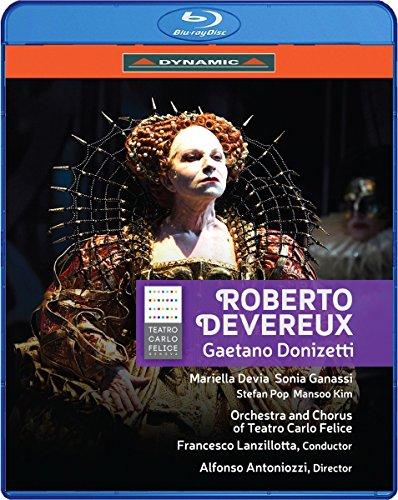 Gaetano Donizetti: Roberto Deverux (Blu-ray)