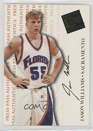 (Jason Williams (Basketball Card) 1998 Press Pass Authentics - [Base] #6)