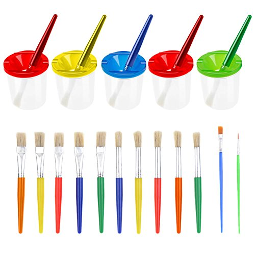 Paxcoo Spill Paint Painting Brushes product image