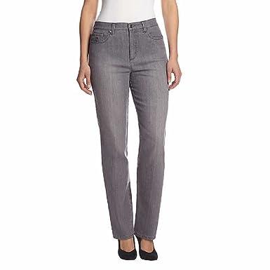 67fb8e726 Gloria Vanderbilt Womens Original Slimming Amanda Jeans, Lunar Wash ...