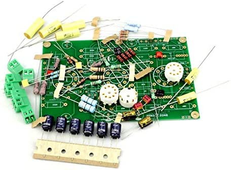 E834 tube phono amplifier kit MM-RIAA amplifier without tube