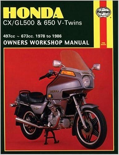 Honda cxgl v twins 7883 haynes repair manuals haynes honda cxgl v twins 7883 haynes repair manuals 1st edition fandeluxe Choice Image