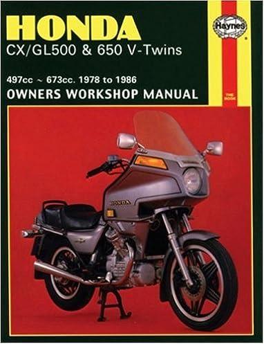 honda cx gl v twins 78 83 haynes repair manuals haynes rh amazon com Honda CBX 400 Honda 400 Motorcycle