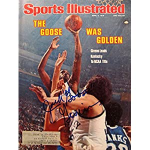"Givens, Jack ""Goose"" 4/3/78 autographed magazine"
