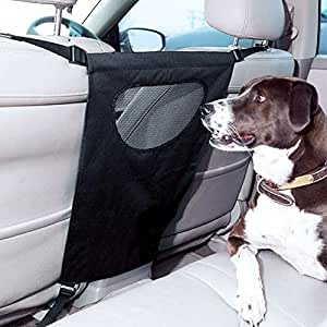 vehicle pet back seat barrier dog car barriers keep pet away from front seats size fits car. Black Bedroom Furniture Sets. Home Design Ideas