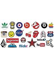 Sticker laptop mix