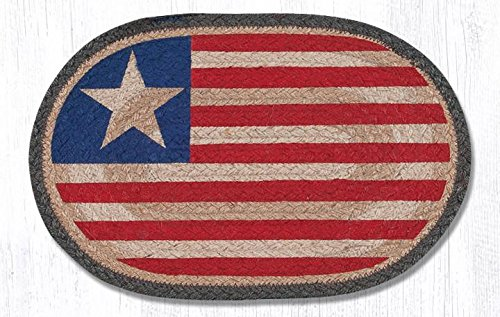 10''x15'' Original Flag Oval Small Placemat