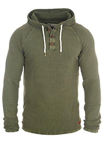 Jersey Para Ten Con Capucha Algodón solid Hombre Punto Suéter Sudadera De Climb Ivy 100 YRqwd5q