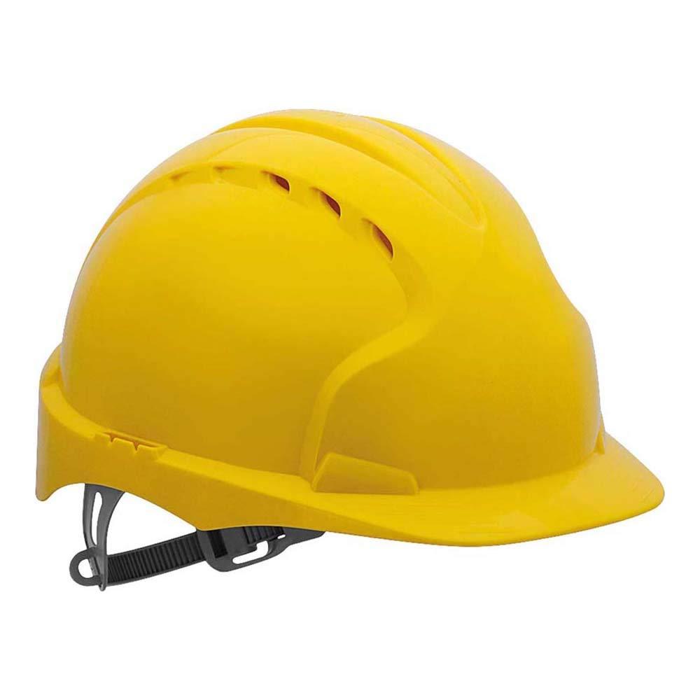JSP AJF030-000-600 EVO2/® color rojo con ventilaci/ón Casco de seguridad con trinquete deslizante