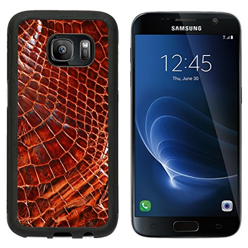 MSD Premium Samsung Galaxy S7 Aluminum Backplate Bumper Snap Case wild skin pattern in many style IMAGE 15363798