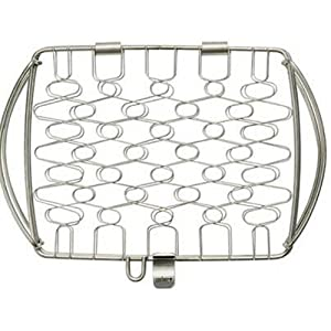 Weber 6470 Original Stainless Steel Fish Basket, Small (11.1 x 7.2 x 2)