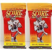$26 » 2 PACKS: 2021 Score NFL Football CELLO packs (40 cards/pk)