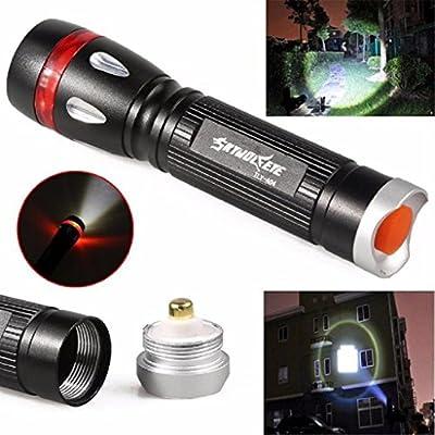 Kikisale SKYWOLFEYE 3000 Lumens 3 Modes CREE XML T6 LED 18650 Flashlight Torch Lamp