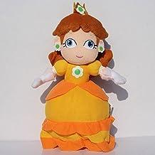 Super Mario Bros Princess Daisy soft Plush Stuffed Animals Doll Kids Toys 28 cm