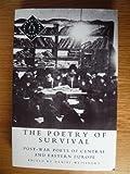 The Poetry of Survival, Daniel Weissbort, 0140586377