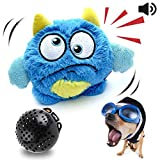 NEILDEN Interactive Dog Toys Plush Giggle Ball Toys Puppy Motorized Entertainment for Pets Automatic Electronic Shake Crazy Exercise Boredom Bouncer Toys for Small to Medium Dogs