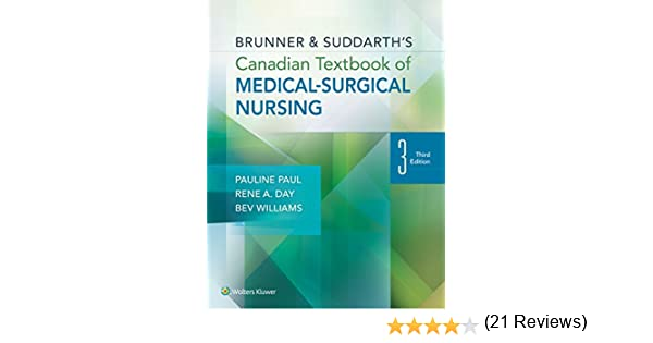 Brunner suddarths canadian textbook of medical surgical nursing brunner suddarths canadian textbook of medical surgical nursing ebook pauline paul rene day beverly williams amazon kindle store fandeluxe Choice Image
