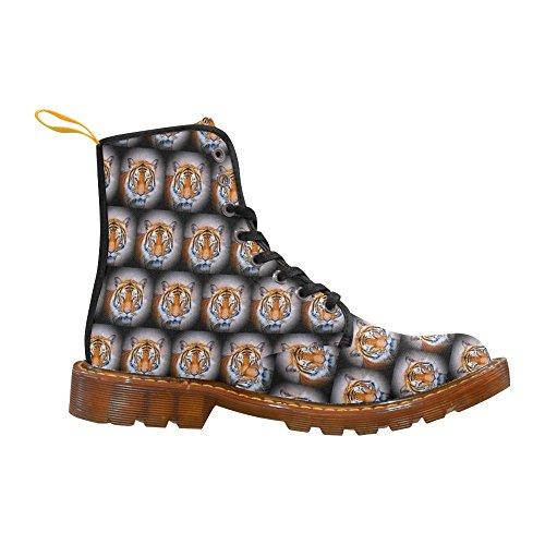 Leinterest Cute Animal Drops - Tiger Martin Boots Moda Scarpe Da Uomo