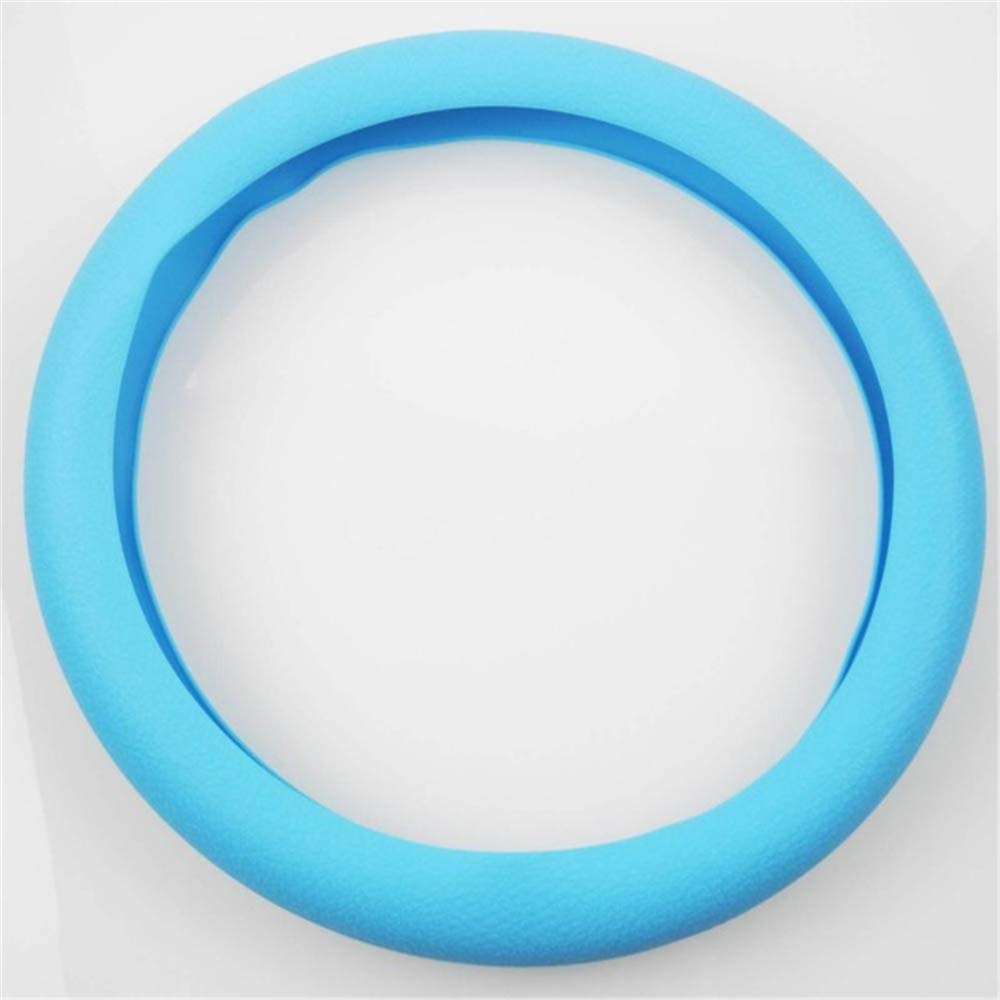 azul oscuro LUYISH La cubierta del volante GM es muy suave de silicona antideslizante cubierta del volante piezas de autom/óviles