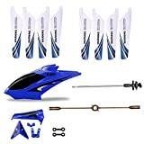 RC Helicopter Fuselage Wings Balance Bar Full Replacement Parts Set for Syma S107G RC Helicopter (Bule)